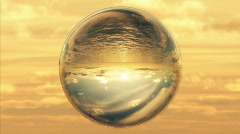 (1027) A world in glass. Stock Footage