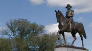 Stock Video Footage of George Washington Statue