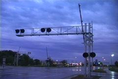 Rail Road Tracks Comp 1 - stock footage