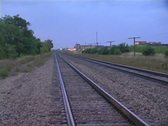 Stock Video Footage of Rail Road Tracks Comp 1