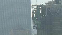 Hazy NYC Skyline Building - stock footage
