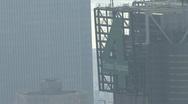 Hazy NYC Skyline Building Stock Footage