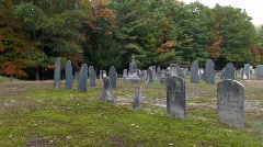 Old Cemetery  Stock Footage