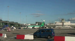 Dublin Airport Stock Footage