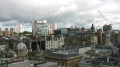 Glasgow Skyline 1080 01 Stock Footage