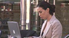 Businesswoman in Paris Stock Footage
