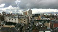 Glasgow Skyline 1080 02 Stock Footage