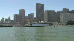 San Francisco Skyline Cityscape Stock Footage