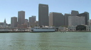 Stock Video Footage of San Francisco Skyline Cityscape