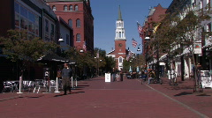 Church in Burlington Stock Footage