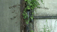 Broken drainpipe 4 Stock Footage