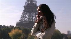Hispanic woman on phone - 3 Stock Footage