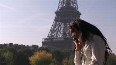 Hispanic woman on phone - 4 Stock Footage