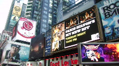 New York City:Times Square  Stock Footage