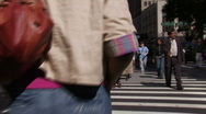 Stock Video of New York City: Pedestrians  Stock Footage