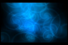 Blue Twirl Wipe - stock footage