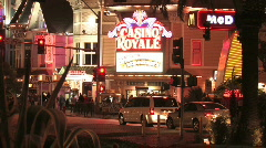 Casino Royale Las Vegas Stock Footage