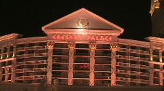 Caesars Palace Las Vegas Stock Footage
