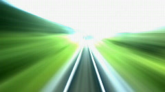 railroad straight 15s - stock footage