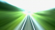 Railroad straight 15s Stock Footage