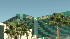 MGM Grand Stock Footage