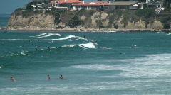 Pacific Beach Park / Palisades Park, San Diego, California. Clip 2 Stock Footage