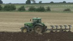 Ploughing 7 - stock footage