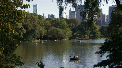 New York City: Central Park Stock Footage
