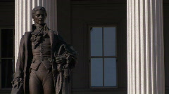 Washington, DC: Department of the Treasury Building Stock Footage
