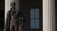 Stock Video of Washington, DC: Department of the Treasury Building Stock Footage