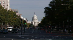 Washington, DC: US Capital Building - stock footage