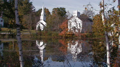 New Hampshire: Scenic Marlow Stock Footage