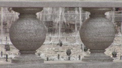 Water Fountain Close-up Stock Footage
