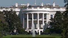 The White House - stock footage