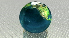 3d models of the earth  Stock Footage