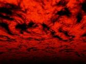 VJ Loop 116 : 3D Flying - Red Hell 2 Stock Footage