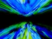 VJ Loop 092 : Stargate - Green & Blue 2 Stock Footage