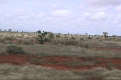 Driving In Africa Tsavo 2 Stock Footage