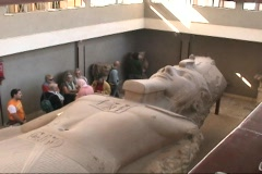 Egypt Ramses 2 II Stock Footage