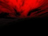 VJ Loop 087 : 3D Flying 1 Red Stock Footage