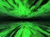 VJ Loop 130 : Stargate B - Green 3 Stock Footage