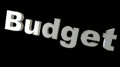 Out of control Budget Stock Footage