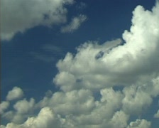 Clouds on sky. (Time Lapse) Stock Footage