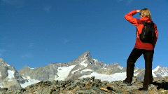 Mountain freedom Stock Footage
