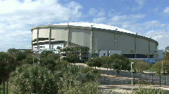 The Tropicana Dome In St Petersburg 05 Stock Footage