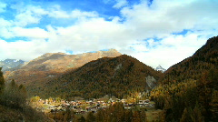Time-lapse of Zermatt Stock Footage