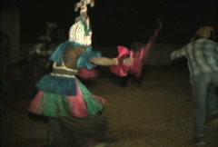 Dogon dances  Stock Footage