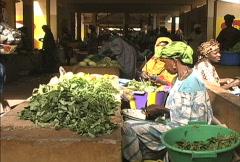 Interior Market in Mali  Stock Footage