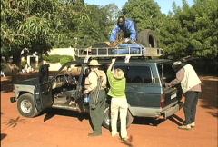Loading vehicle  Stock Footage