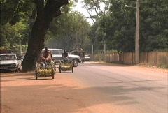 Vendors at Bamako Stock Footage
